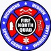 North Quad Fire and EMS Logo