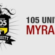 My Radio University 105 Logo