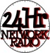 24Hr Network Radio Logo