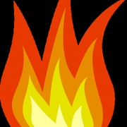 KWLD 91.5 The Flame Logo