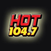 Hot 104.7 - KHTN Logo