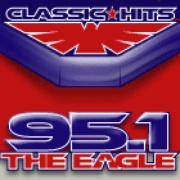 The EAGLE - KWOA-FM Logo