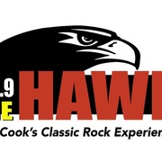The Hawk - KQHK Logo