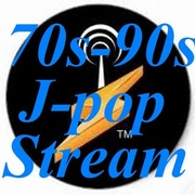 70s 90s J pop Stream Logo