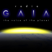 Radio Gaia The Voice of Planet Logo