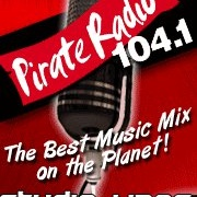 Pirate Radio 104.1 - KBOX Logo