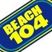 Beach 104 - WCXL Logo