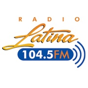 Radio Latina 104.5 Logo