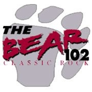 The Bear 102 - KHXS Logo