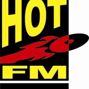 Hot Fm General Santos - DXHB Logo