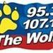 95.3 The Wolf - WLFK Logo
