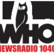 WHO Radio - Newsradio 1040 Logo