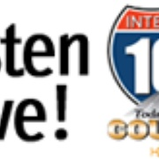 Interstate 107 FM - W232AX Logo