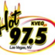 Hot 97.5 - KVEG Logo