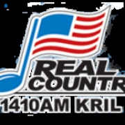 Real country 1410 AM - KRIL Logo