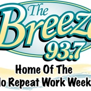 The Breeze 93.7 - WGYL Logo