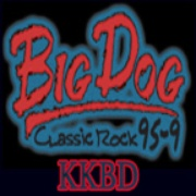 Big Dog 95.9 - KKBD Logo