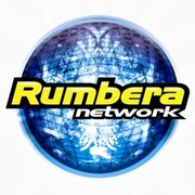 Rumbera Network 107.7 Logo