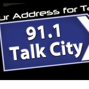 Talk City 91.1 FM Logo