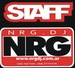 NRG DJ - One Nation, One Station Logo