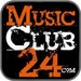 MusicClub24 - Dark Room Logo