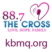 KBMQ 88-7FM The Cross Logo