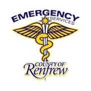 Renfrew County Police, Fire, and EMS Logo