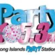 Party 105.3 - W268AN Logo