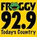 Froggy 92.9 - KFGY Logo