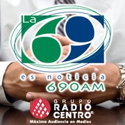 La 69 AM - XEN Logo