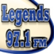 Country Legends 97.1 - KTHT Logo