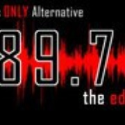 KCEU 89.7 FM The Edge Logo