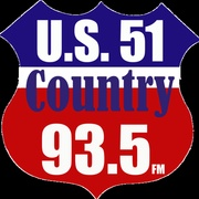 U.S. 51 Country - WKBQ Logo