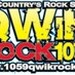 QWiK Rock 105.9 - WQCK Logo