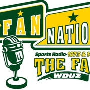 The Fan - WDUZ-FM Logo