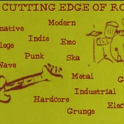 The Cutting Edge Of Rock Radio Logo