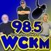 98.5 CKM - WCKM-FM Logo