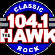The Hawk - KDJK Logo