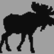 The MOOSE - KMOZ-FM Logo