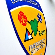 Lenoir County Police, Fire, and EMS Logo