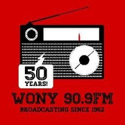 Red Dragon Radio - WONY Logo