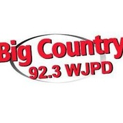 Big Country 92.3 - WJPD Logo