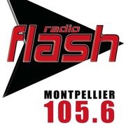 Radio Flash Montpellier - 105.6 FM Logo