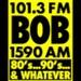 101.3 Bob FM - KLRK Logo