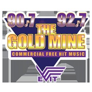 The Goldmine 90.7 Logo