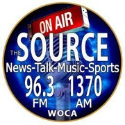 News Talk 1370 - WOCA Logo