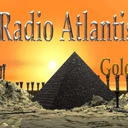 Radio Atlantis Gold Logo