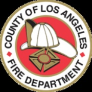 Los Angeles County Fire North ANF and CAL FIRE Logo