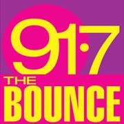 91.7 The Bounce Logo