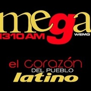 Mega 1310 AM - WEMG Logo